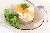 chicken aspic