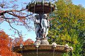 France, Paris: Fountain