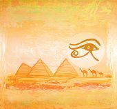 picture of horus  - Egypt symbols and Pyramids  - JPG