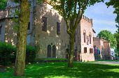 Castle of San Secondo Parmense. Emilia-Romagna. Italy.