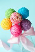 image of cake-ball  - Cake pops - JPG