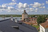 Top View Of Kirillo-belozersky Monastery