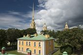 Постер, плакат: Peter And Paul Cathedral In Sankt Petersburg