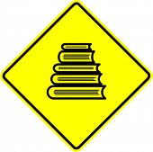 book tower sign
