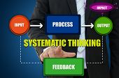 Systematic Thinking for Business Concept