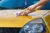 Hand Car Wash - Bonnet Water Splash