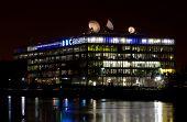 BBC Studios In Glasgow At Night