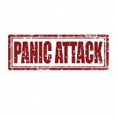 Panic Attack-stamp