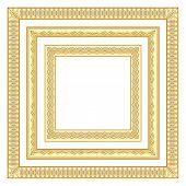 3 golden frames