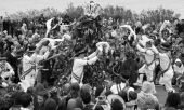 Morris Dancers At Jack In The Green Pagan Festival