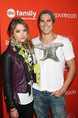 LOS ANGELES - OCT 15:  Ashley Benson, Sean Faris at the