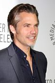 LOS ANGELES - OCT 16:  Timothy Olyphant at the 2013 Paley Center For Media Benefit Gala at 21st Cent