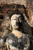 Ancient Buddha Statue Thailand