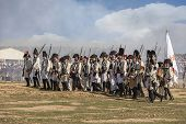 Soldiers In Formation During The Representation Of The Battle Of Bailen, Bailén  Jaén Province, Anda