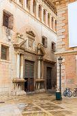 Valencia Patriarca museum in Calle Nau Nave street in Spain