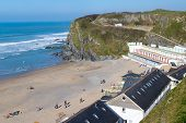 Tolcarne Beach Newquay Cornwall