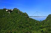 stock photo of langkawi  - Langkawi Sky Bridge Langkawi island Malaysia Southeast Asia - JPG