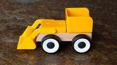 Simple Wheel Dozer Toy