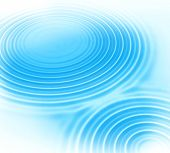 Blue Water Ripples Abstract Background