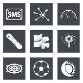 Icons for Web Design set 40