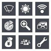 Color icons for Web Design set 46