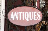 Antiques Sign Landscape