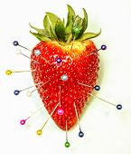 Strawberry Pins