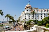 The Hotel Negresco In Nice, France