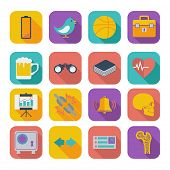 Flat icons for Web Design set 2