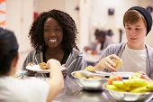 pic of homeless  - Kitchen Serving Food In Homeless Shelter - JPG