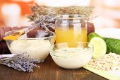 image of facials  - Homemade facial masks with natural ingredients - JPG