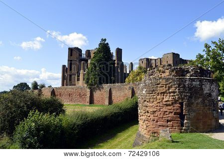 poster of Kenilworth Castle in Warwickshire