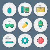 Vector Icons Set. For Web Site Design And Mobile Apps