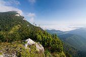 Morning On Summer Mountain Ridge - Slovakia
