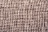Textile Texture Of Rough Brown Fabric