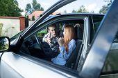 Serious Quarrel In A Car