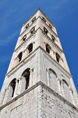 Bell Tower Of The Anastasia Cathedral In Zadar, Croatia