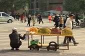 Middle Eastern Street Stall in China