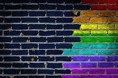 Dark Brick Wall - Lgbt Rights - Alaska