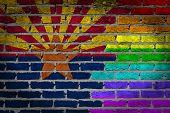 Dark Brick Wall - Lgbt Rights - Arizona