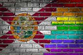 Dark Brick Wall - Lgbt Rights - Florida