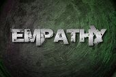 image of empathy  - Empathy Concept text on background humanism idea - JPG