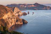 Vulcano from Lipari Island