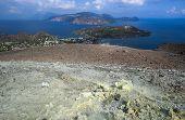 Lipari coast from Vulcano