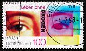 Postage Stamp Germany 1996 Human Eyes