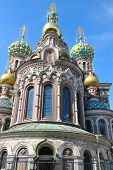 "picture of na  - ""Spas na Krovi"" Orthodox church is ne of the main sights in Saint Petersburg, Russia. - JPG"