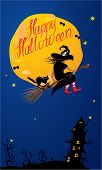 image of happy halloween  - Card of Halloween night - JPG