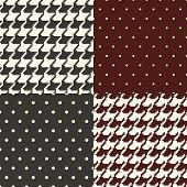 set of polka dots and pata de gallo