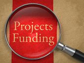 Projects Funding through Magnifying Glass.