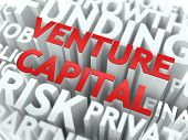 Venture Capital - Wordcloud Concept.